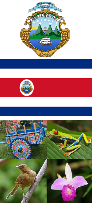 Costa Rica symbols